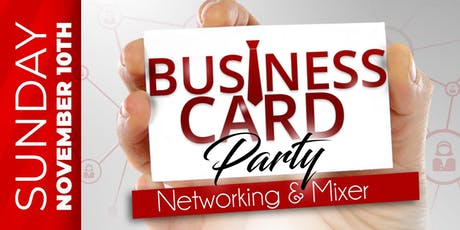 Detroit Business Card Party (4th Edition) tickets