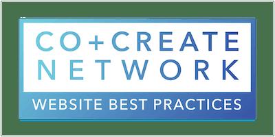 Co+Create Network: Website Best Practices