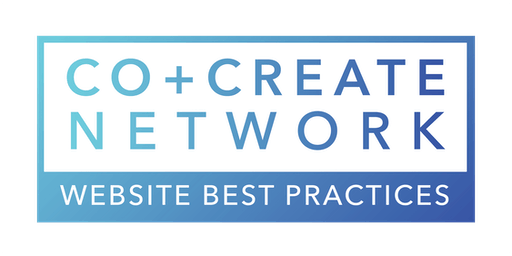 Co+Create Network: Website Best Practices