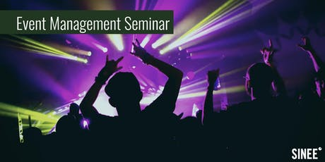 Eventmanagement Seminar Tickets