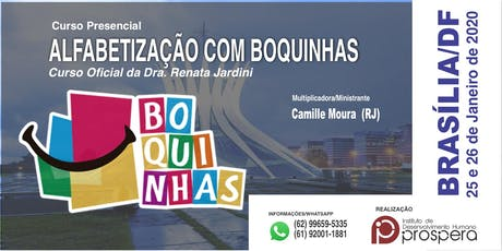[BRASÍLIA] MÉTODO DAS BOQUINHAS - ALFABETIZAÇÃO COM BOQUINHAS tickets