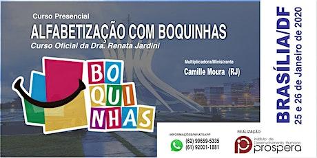 [BRASÍLIA] MÉTODO DAS BOQUINHAS - ALFABETIZAÇÃO COM BOQUINHAS ingressos