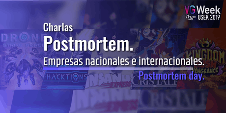 Postmortem day - VG week 2019 entradas