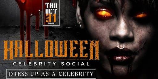 Halloween Celebrity Social