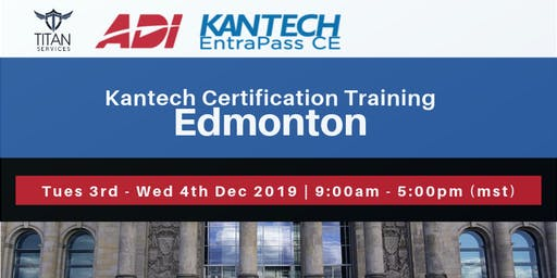 Edmonton Kantech CE Certification - ADI