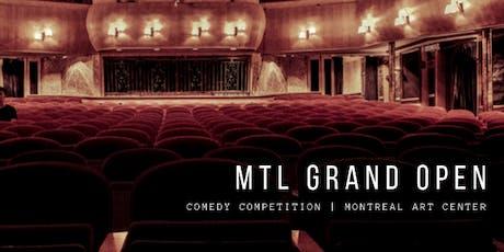 MTL GRAND - Semi-Finals #1 tickets