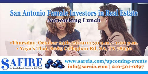 Females in Real Estate Investing Networking Lunch
