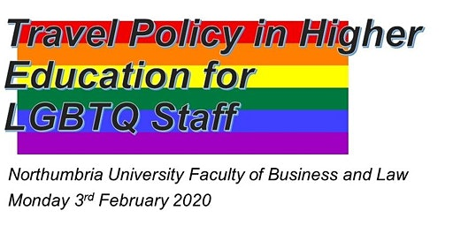 Travel Policy in Higher Education for LGBTQ+ Staff