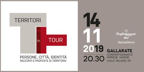 Territori in tour Gallarate - Racconti e proposte biglietti