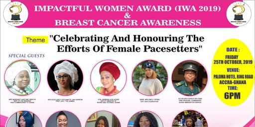 IMPACTFUL WOMEN AWARD / BREAST CANCER AWARENESS