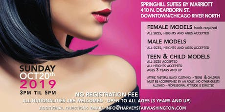 FINAL CHICAGO MODEL CASTING SEARCH FOR MALE AND FEMALE MODELS SUN OCT 20TH tickets