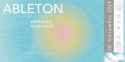 Ableton Live Anfänger Workshop w/ Gleb Lasarew