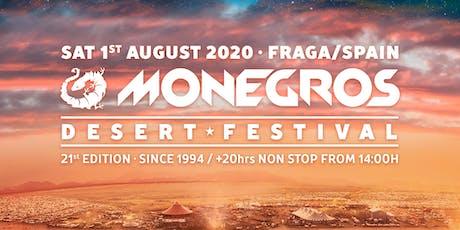 Monegros Desert Festival 2020 entradas