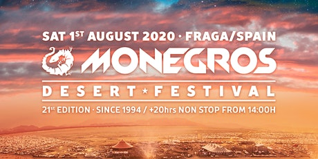Monegros Desert Festival 2020 tickets