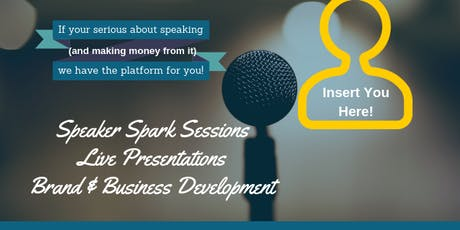 Speaker Spark Session - Emerging Speakers Lab tickets