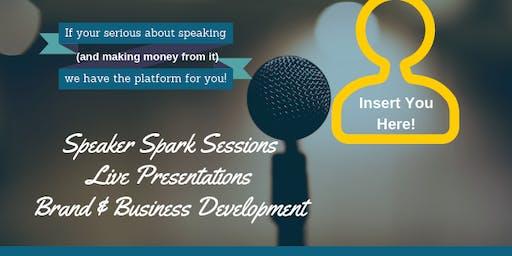 Speaker Spark Session - Emerging Speakers Lab
