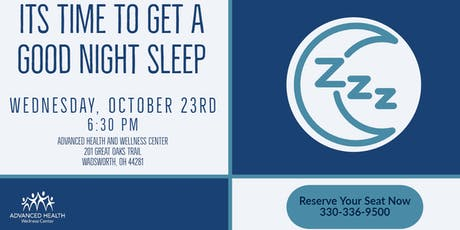 Sleep Better Tonight! tickets