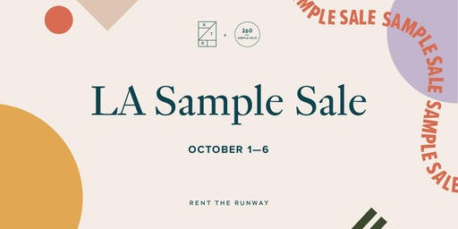 RTR Sample Sale – Los Angeles