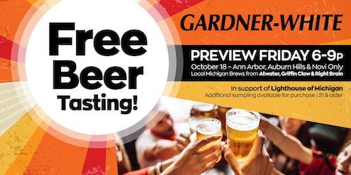 VIP Beer Tasting Event - Novi