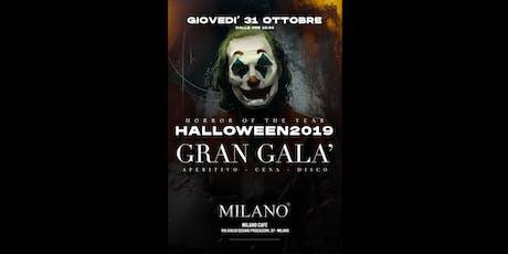GRAN GALA' DI HALLOWEEN 2019 - MILANO CAFE' - 31 Ottobre 2019 biglietti