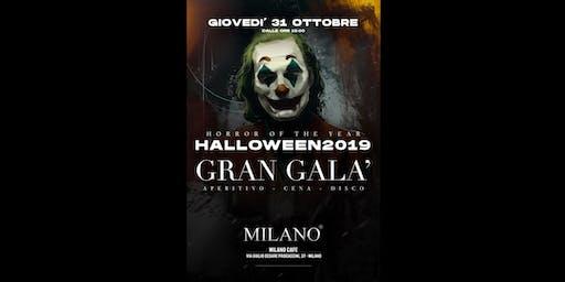 GRAN GALA' DI HALLOWEEN 2019 - MILANO CAFE' - 31 Ottobre 2019