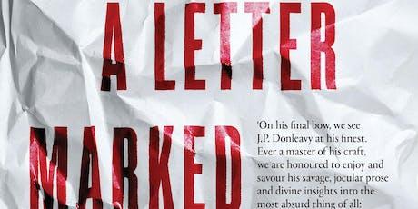 Dublin Book Festival Speakeasy: J.P. Donleavy's 'A Letter Marked Personal' tickets