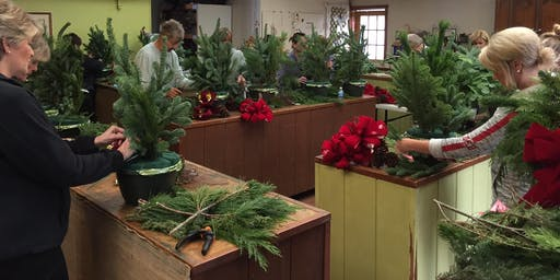 Holiday Porch Pot Class