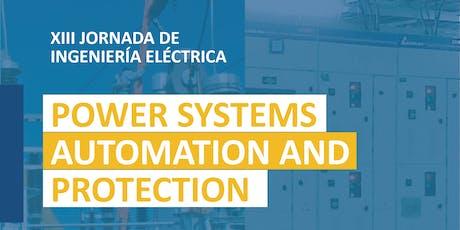 XIII Jornada de Ingeniería Eléctrica boletos