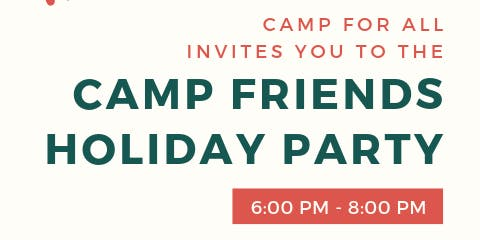 Camp Friends Holiday Party