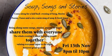 Soup, Songs & Stories tickets