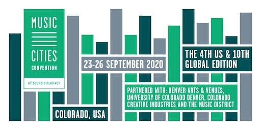 Music Cities Convention - Colorado 2020