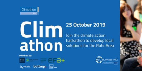 Climathon Ruhr - Der Klimaschutz Hackathon Tickets