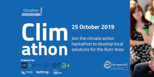 Climathon Ruhr - Der Klimaschutz Hackathon