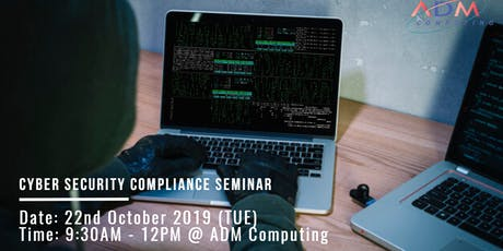 CYBER SECURITY COMPLIANCE SEMINAR tickets