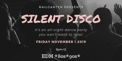 Silent Disco at Railgarten