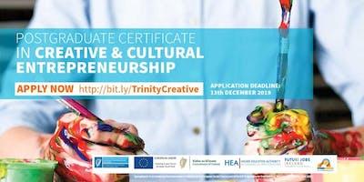 Info Session: Springboard+ PG Cert in Creative & Cultural Entrepreneurship