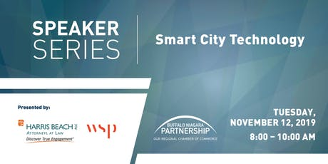 Speaker Series: Smart city technology and how it could impact Buffalo Niagara tickets