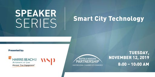 Speaker Series: Smart city technology and how it could impact Buffalo Niagara