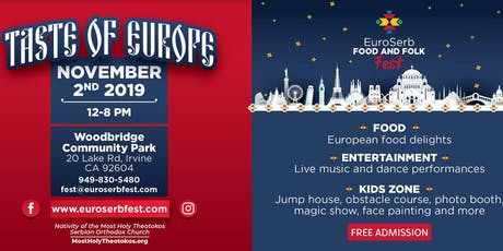 Taste of Europe: Food and Folklore Festival tickets