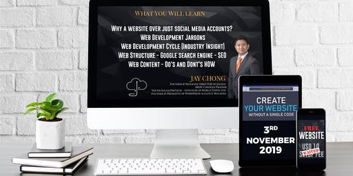 Create Your Website Without Single Code - Level 2 (Jagole Workshop) -RM199