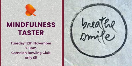 Mindfulness Taster - Camelon tickets