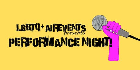 LGBTQ+ AirEvent presents Performance Night tickets