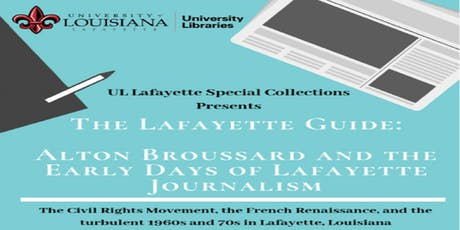 UL Lafayette Special Collections Journalism Event tickets
