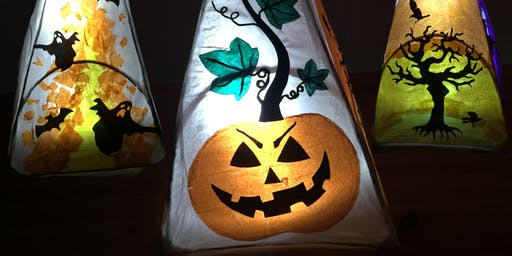SPOOKY LANTERNS!  Halloween Lantern Making Workshop   Ages 5-13yrs