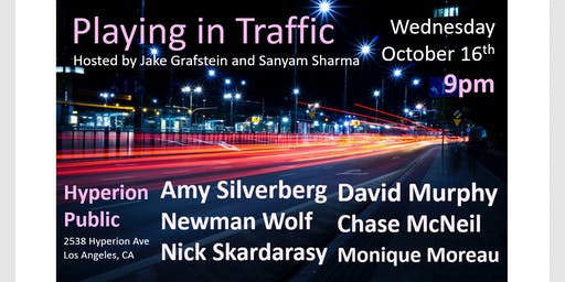 Playing In Traffic: Comedy Show