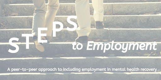 "Mental Health Minnesota ""Steps to Employment"" Peer Support Workshop"