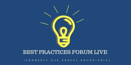 Best Practices Forum Live