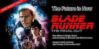 FILM CLUB: BLADE RUNNER (Tribute + Final Cut + Deleted Scenes)