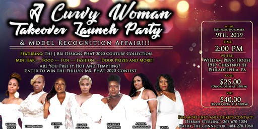 J Bri Designs Presents Curvy Woman Takeover and Model Recognition Party
