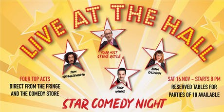 Star Comedy Night - Live at the Hall tickets